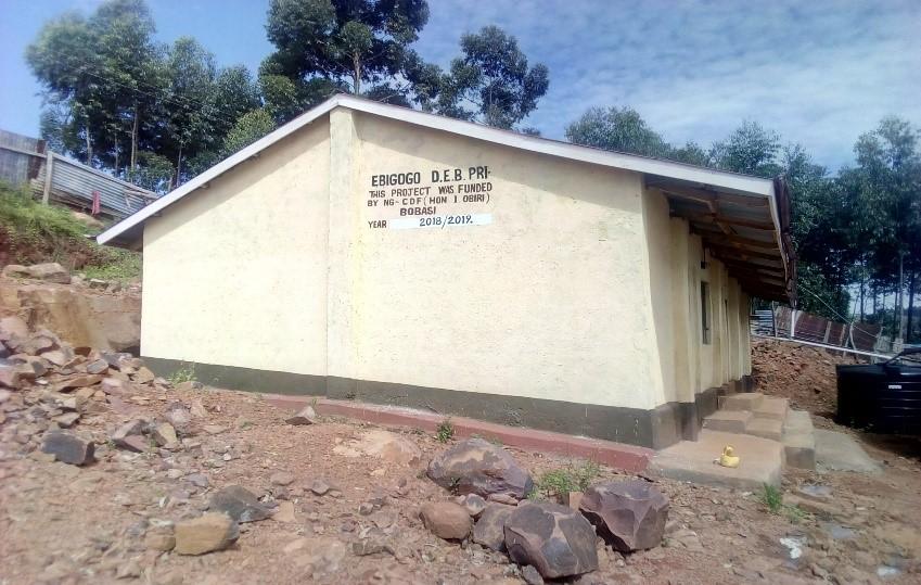 EBIGOGO PRMARY New Two classrooms